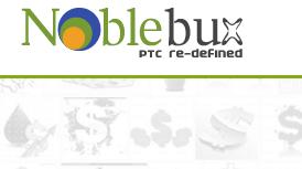 NobleBux Site PTC Pagando a 1 Ano