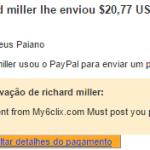 12º Pagamento My6Clix $20,77 29 Setembro