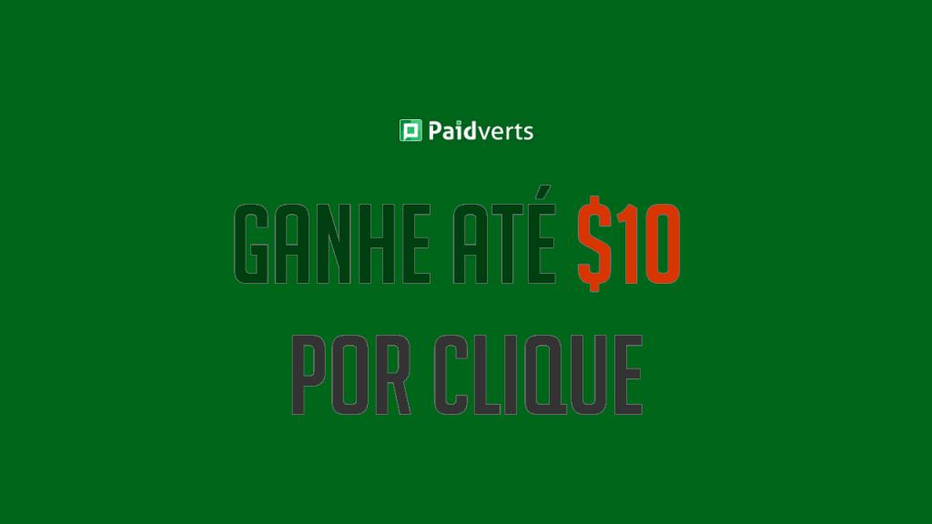 PaidVerts Paga Ganhar dinheiro no Paidverts