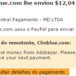 6º Pagamento AdzBazar $12,4 01 novembro