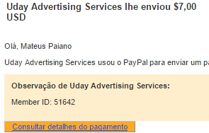 Pagamento My Paying Ads