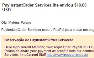 pagamento innocurrent