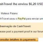 Pagamento Cashtravel