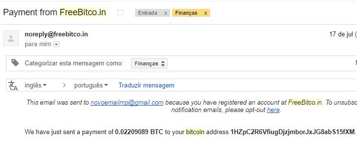 4º Pagamento FreeBitcoin 2 milhões de Satoshi