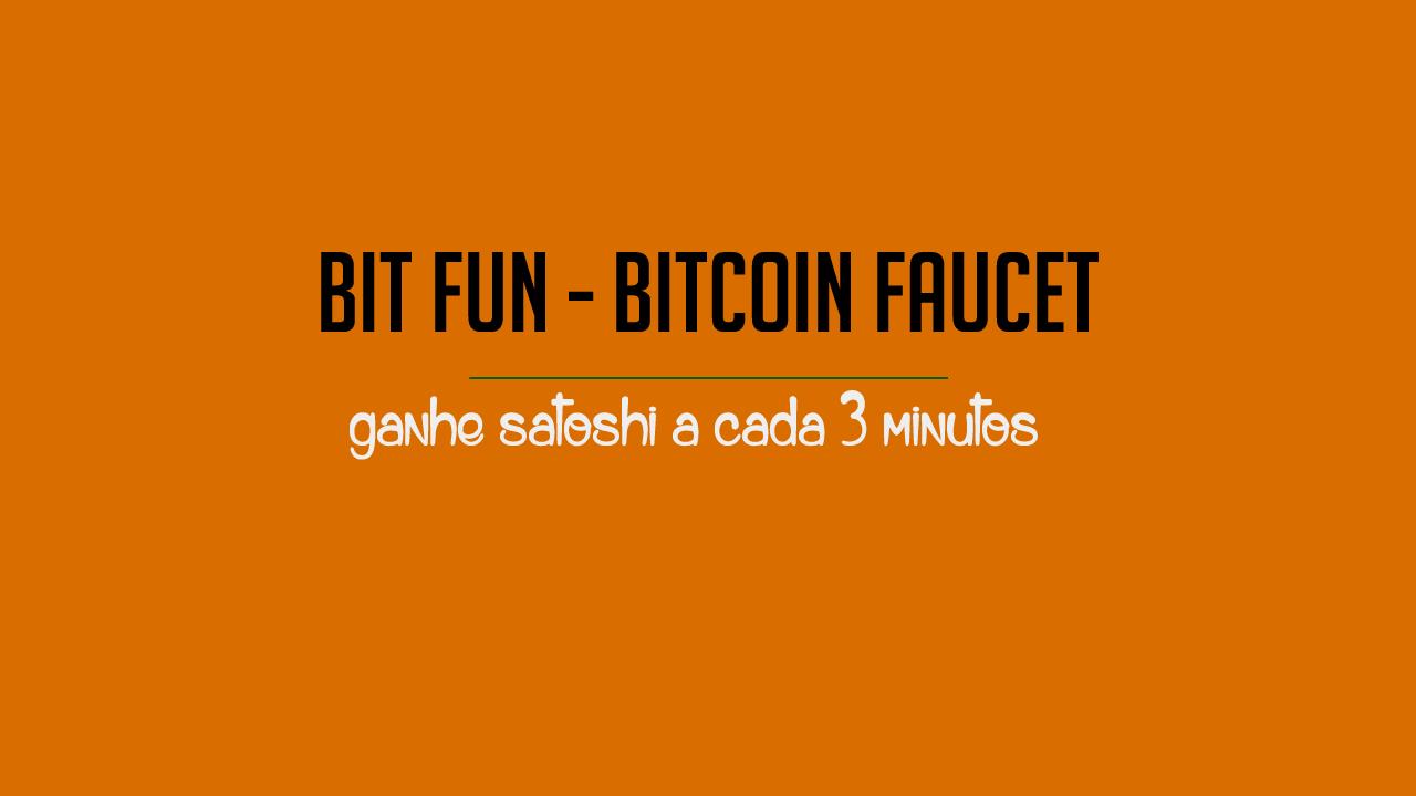 Bit Fun Ganhe bitcoin grátis a cada minuto