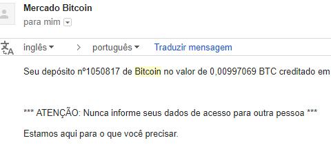 Primeiro pagamento Hashflare Setembro 2017