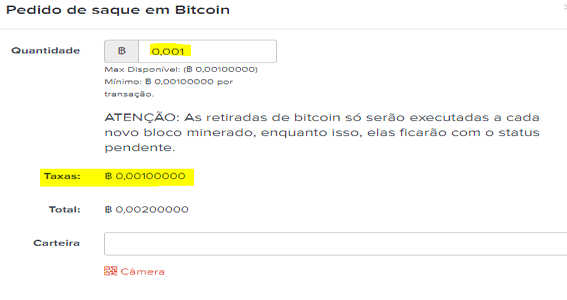 Como fugir das taxas do Bitcoin no Mercado Bitcoin