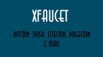XFaucet Ganhe várias criptomoedas grátis site confiável