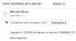 1º Pagamento Paidverts via LiteCoin 0.044 LTC 23 Fevereiro 2018