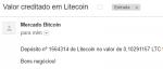 Pagamento MoonLitecoin 0.1 Litecoin 12 Abril 2018