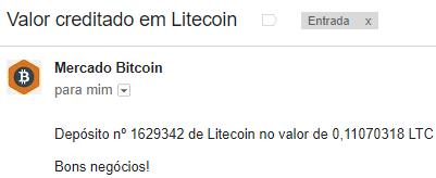 Pagamento CoinPot 0.11 LTC Maio 2018