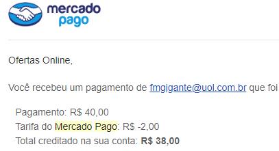 43º Pagamento FMGClique R$40 Maio 2018
