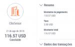 109º Pagamento ClixSense $118 Agosto 2018
