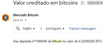 Pagamento FreeBitcoin 0.02 BTC agosto 2018