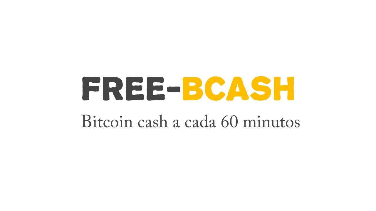 Free Bitcoin Cash Novo Faucet para ganhar BicoinCash
