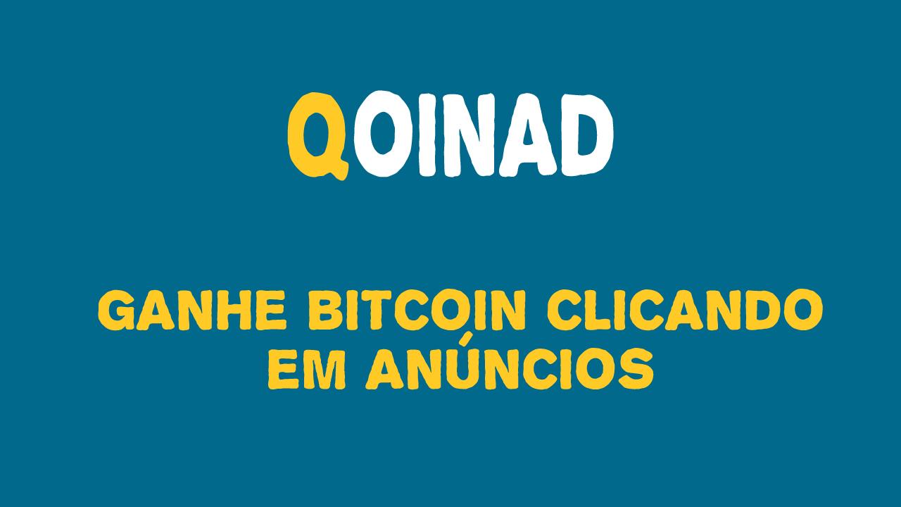Qoinad Lucrativo site para ganhar Bitcoin