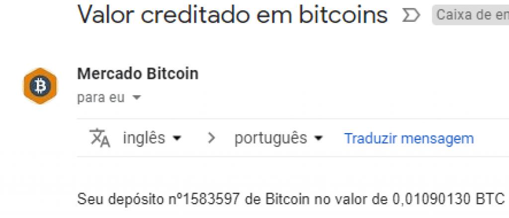 Pagamento CoinPot 0,01 BTC Novembro 2018