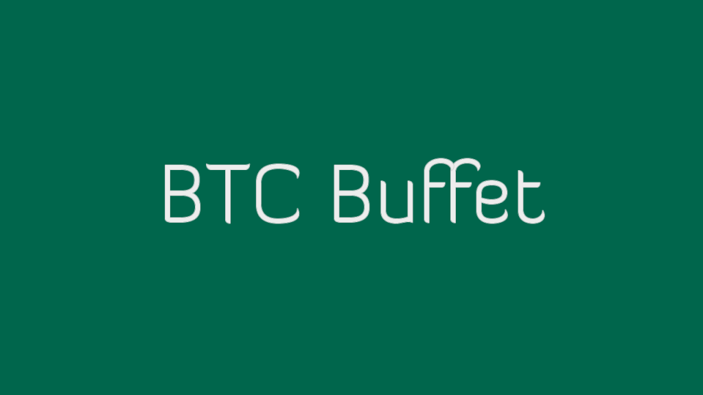 BTC Buffet é um bom site para ganhar Bitcoin