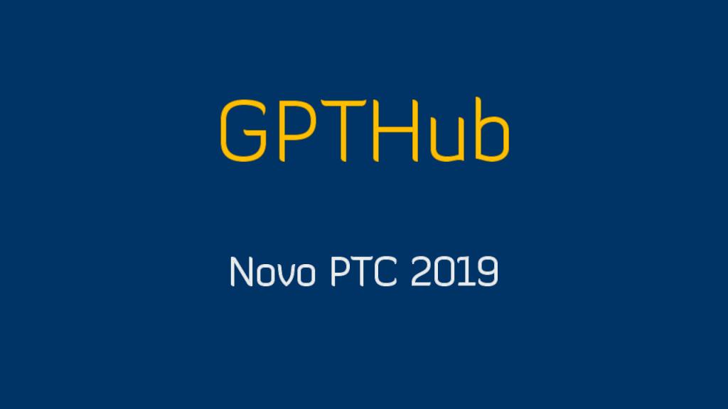 GPThub Novo site PTC 2019