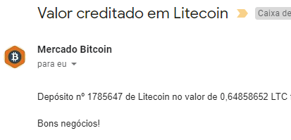 Pagamento CoinPot 0.64 Litecoin Janeiro 2019
