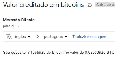 25º Pagamento FreeBitcoin 0.025 BTC Fevereiro 2019