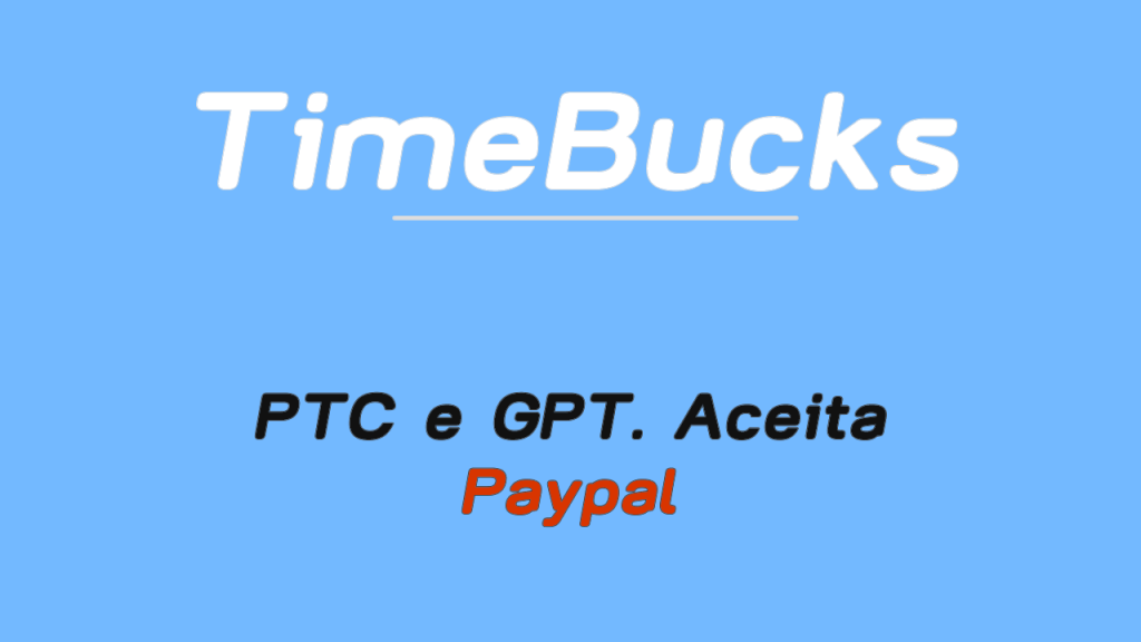 Timebucks ganhe Dollar hoje grátis e rápido 1