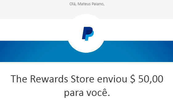 1° Pagamento ysense $50 Paypal agosto 2018