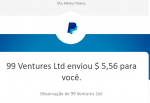 Pagamento Ysense $100 setembro 2019 Paypal 1