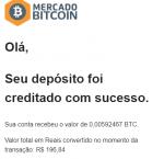 Pagamento Coinpot R196 Novembro 2019