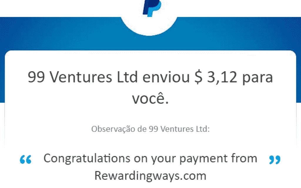 pagamento rewarding