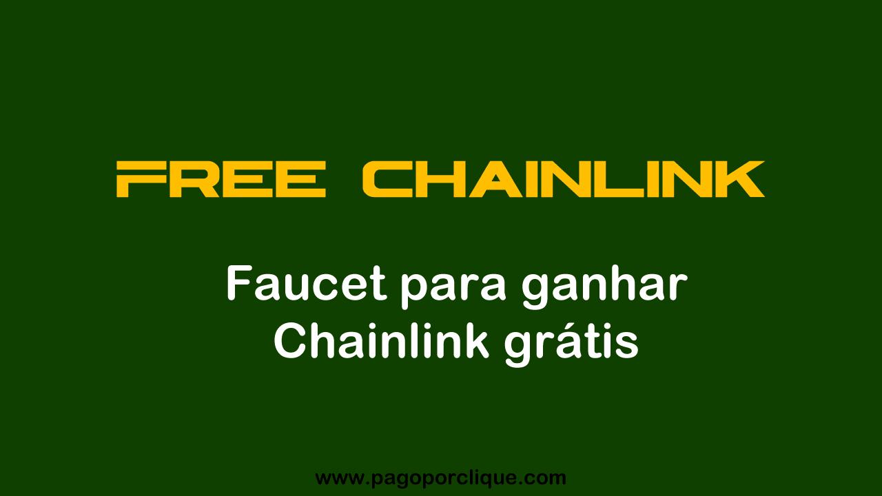 FREE CHAINLINK Faucet para ganhar Chain Link grátis