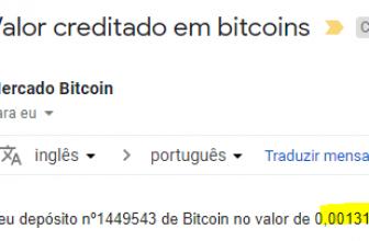12º Pagamento TrustBTCFaucet 0.0013 Julho 2018