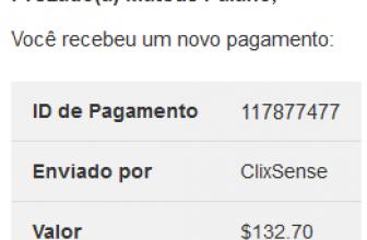 120º Pagamento ClixSense $132 Março 2019