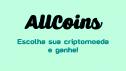 AllCoins é um bom site para ganhar Criptomoedas Grátis