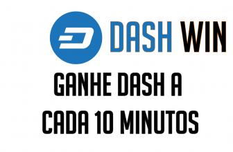 Dash Win Faucet pagando em Dash via FaucetHub