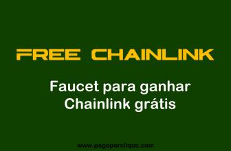 FREE CHAINLINK Faucet para ganhar ChainLink grátis