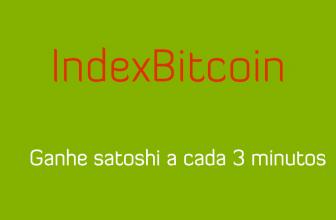 IndexBitcoin faucet Bitcoin com pagamentos imediatos