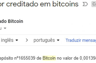 Pagamento AdBTC 0.00139 janeiro 2019