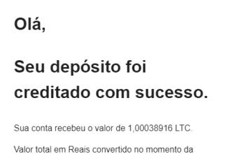 Pagamento CoinPot R$203 Litecoin dezembro 2019