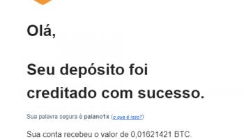 Prova pagamento FreeBitco.in R$890 setembro 2020