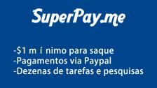 SuperPay.me é o site para ganhar Dollar no Paypal