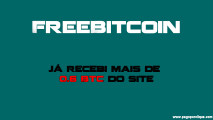 Freebitco.in é o melhor faucet para ganhar Bitcoin 2021