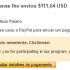 5º Pagamento SuccessBux $2,53 13 Dezembro