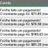 Scarlet Clicks Comprovante de pagamentos $1125