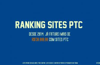 Ranking Melhores PTC Internacional 2021